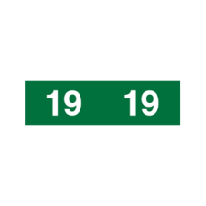 19-AM12 - 2018 Green Ames Year Labels