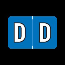 ARAM-D | Dk Blue D  Amerifile Alpha Labels