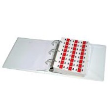 SG3R-RBS | Safeguard Ringbook Binder Set Letters A-Z + Mc Includes Binder & Indexes