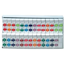TPAF-SET   Tab Products Fluorescents Complete Set A-Z + Mc Includes Tray