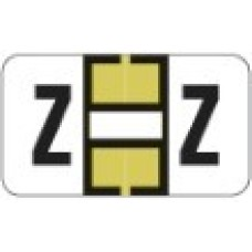 0200-Z | Gold Z Labels Jeter 0200 Series Size: 15/16H x 1-5/8W, Laminated, 500/Box