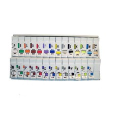 TRAM-SET | Traco Series Complete Set A-Z+Mc Includes Organizer Tray