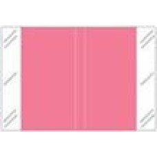 11112-PK | PINK Solid Tabbies Color Size 1H x 1-1/2W Laminated 500/Box