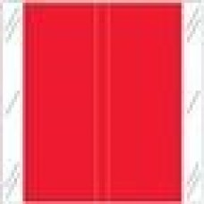 11602-RD | RED Solid Tabbies Color Size 1-1/2H x 1-1/2W Laminated 500/Box