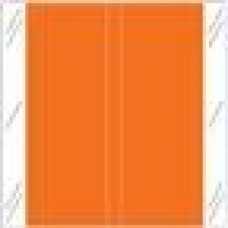 11608-OR | ORANGE Solid Tabbies Color Size 1-1/2H x 1-1/2W Laminated 500/Box