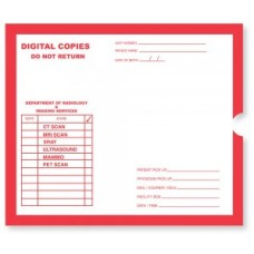 11848 | Digital Copy, White, Red Print, Category Insert Jackets, Open End, 250/bx