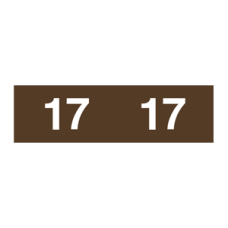 17-AM12 - 2017 Brown Ames Year Labels