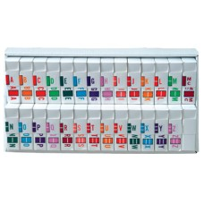 5191-SET | Jeter Systems 5100 Series Complete Set A-Z Plus Mc Includes Organizer Tray