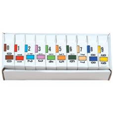 51689 | Safeguard Numeric Series Complete Set 0-9 Includes Organizer Tray