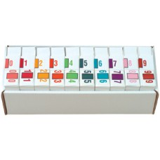 6191-SET | Jeter Systems 6100 Series Complete Set 0-9 Includes Organizer Tray