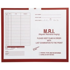 99627 | MRI, Rust, Category Insert Jackets, Open Top, 250/bx
