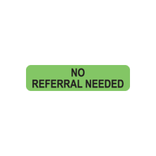 A1023 - NO REFERRAL NEEDED - Fluorescent Green/Black