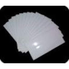 ADLP-100 | Mylar 1-3/4 x 3-1/2 Clear Self Adhesive Tab Protection Label 100/Pack