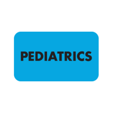 ARD1001 - PEDIATRICS - Light Blue Label With Black Print