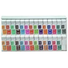 CJTA-SET | Colwell Jewel Tone Complete Set A-Z + Mc Inclused Organizer Tray
