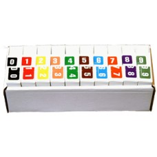 DCN-SET | Digicolor DCN Series Complete Set 0-9 Includes Organizer Tray