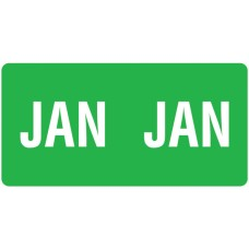 ETS-01 | Smead 67451 Dark Green January Month Labels Size 1/2H x 1W 250/Pack