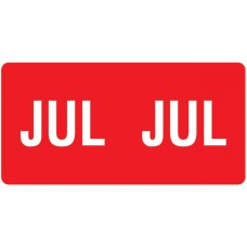 ETS-07 |Smead 67457  Red July Month Labels Size 1/2H x 1W 250/Pack