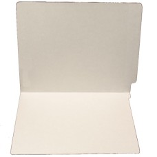 F15RS-0-GY | 15pt. Gray Colored End Tab File Folders, No Fasteners, Letter Sz, 50/bx