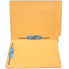 F11RS-35-GO | 11pt. Goldenrod End Tab File Folders, Letter Sz, 2 Fasteners, 50/bx