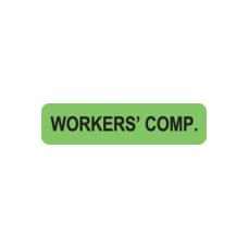 MAP121 - WORKERS COMP - Fluorescent Green/Bk Print