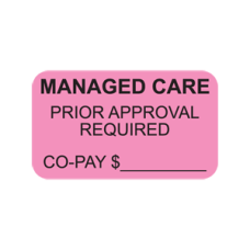MAP1300 - MANAGED CARE - Fluorescent Pink with Black