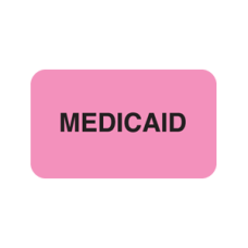 MAP1340 - MEDICAID - Fluorescent Pink with Black Print
