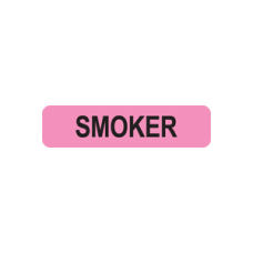 MAP186 - SMOKER - Fluorescent Pink with Black Print