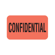 MAP2000 - CONFIDENTIAL - Fluorescent Red with Bk Print