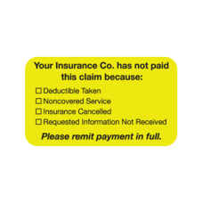 MAP2120 - YOUR INSURANCE - Fluorescent Chartreuse/Bk