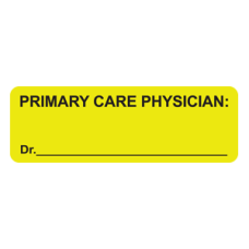 MAP2220 - PRIMARY CARE - Fluorescent Chartreuse/Black