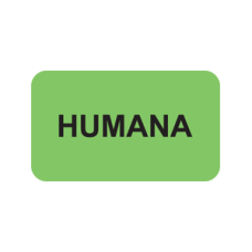 MAP2310 - HUMANA - Fluorescent Green with Black Print
