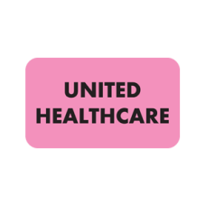MAP2320 - UNITED HEALTHCARE - Fl Pink with Black Print