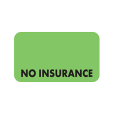 MAP2870 - NO INSURANCE - Fluorescent Green/Black Print