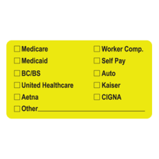 MAP2940 - MEDICARE & MORE - Fl Chartreuse/Black Print