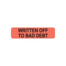 MAP306 - WRITTEN OFF TO BAD  - Fluorescent Red/Bk