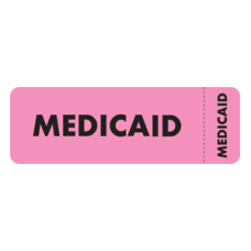 MAP3090-WR - MEDICAID - Fluorescent Pink/Black Print