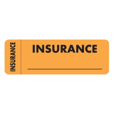 MAP3140 - INSURANCE - Fluorescent Orange with Bk Print