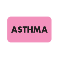 MAP3520 - ASTHMA - Fluorescent Pink with Black Print