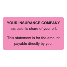 MAP4200 - YOUR INSURANCE - Fluorescent Pink/Bk Print