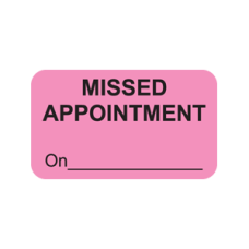 MAP5030 - MISSED APPOINT - Fluorescent Pink/Bk Print