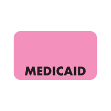 MAP5240 - MEDICAID - Fluorescent Pink with Black Print