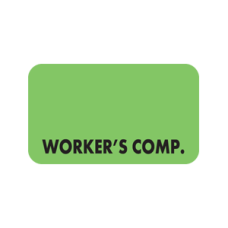 MAP5310 - WORKERS COMP - Fluorescent Green/Bk Print