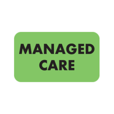 MAP5330 - MANAGED CARE - Fluorescent Green/Bk Print