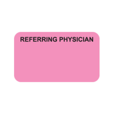 MAP5340 - REFERRING PHYSICIAN - Fl Pink with Bk Print
