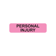 MAP543 - PERSONAL INJURY - Fluorescent Pink/Black Print