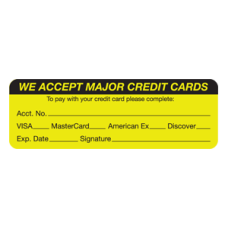 MAP5790 - WE ACCEPT MAJOR - Fl Chartreuse/Black Print