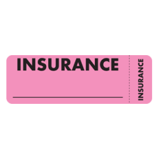MAP6420 - INSURANCE - Fluorescent Pink with Black Print