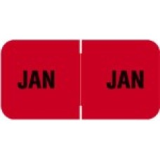MBLM-01 | January Month Labels Barkely FMBLM Size 3/4H x 1-1/2W Laminated 250/Box