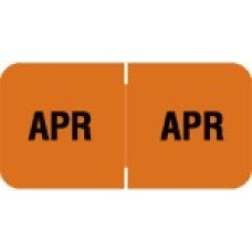 MBLM-04 | April Month Labels Barkely FMBLM Size 3/4H x 1-1/2W Laminated 250/Box